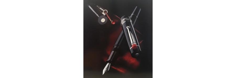 Delta - Wè Smorfia - Black Fountain Pen