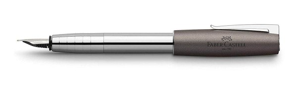 Faber Castell - Loom Metallic Anthracite gray - Fountain Pen