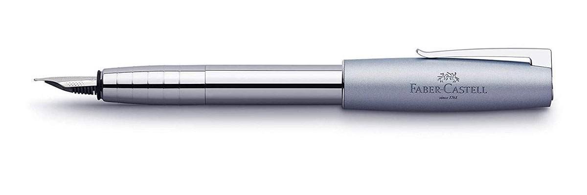 Faber Castell - Loom Metallic Blue Grey - Fountain Pen