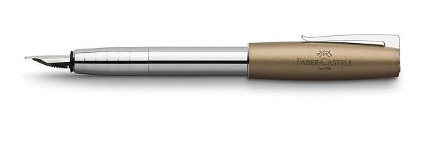 Faber Castell - Loom Metallic Olive Green - Fountain Pen