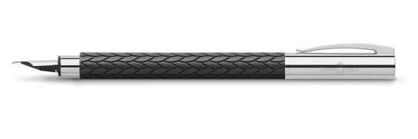 Faber Castell - Ambition - Black Leaves 3D - Fountain Pen