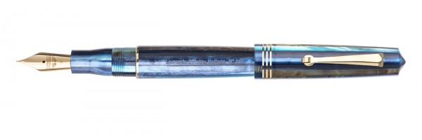 Leonardo Officina Italiana - Momento Zero - Blue Hawaii GT - Fountain pen - Steel nib