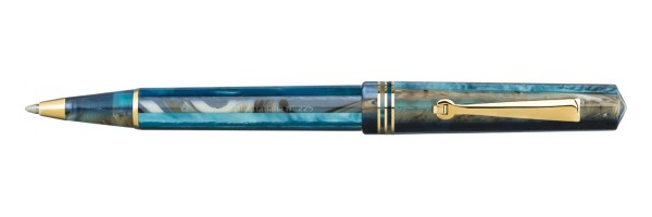Leonardo Officina Italiana - Momento Zero - Blue Hawaii GT - Ballopint Pen