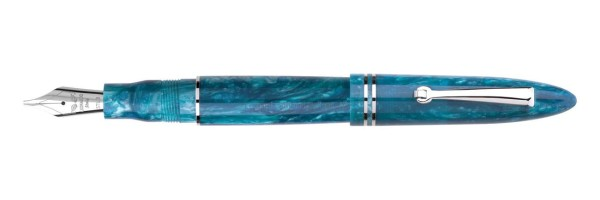 Leonardo Officina Italiana - Furore - Blu smeraldo CT - Stilografica - Pennino acciaio