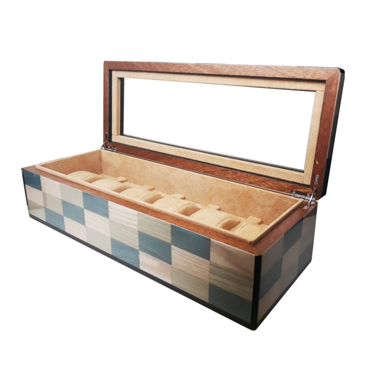 Watch Case - Laguna wood - 6 seats