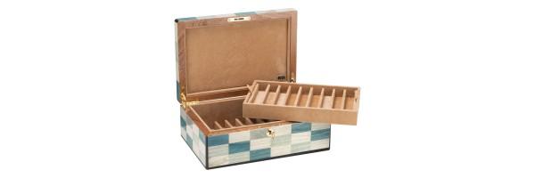 Pen Case - Laguna wood - 18 seats