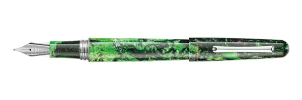 Montegrappa - Elmo 01 Fantasy Blooms - Black Star Calla Lily - Fountain Pen