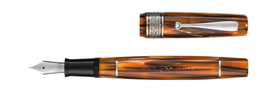 Montegrappa - Ammiraglio 1939 - Turtle Brown - Fountain Pen