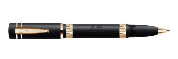 Black Sand Gold - Rollerball Pen - Nettuno Nineteen Eleven
