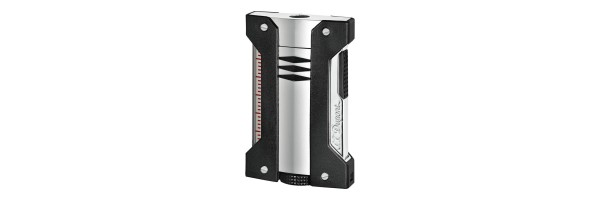 Dupont - 021401 - Defi Extreme Lighter - Chrome and Black