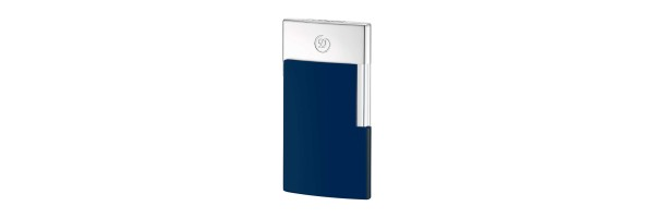 Dupont - E-Slim Blue - Chrome