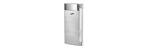 Dupont - 027701 - Slim 7 Lighter - Brushed Chrome Grey