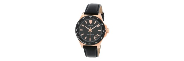 Watch - Scuderia Ferrari - Pilota watch - Rose gold tone - Black dial