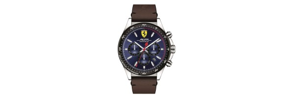 Watch - Scuderia Ferrari - Pilota Chronograph - Blue Dial