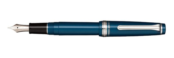 Sailor - Sapporo Slim - Metallic Blue - Fountain Pen