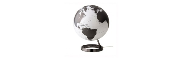 Atmosphere - Illuminated Globe - Charcoal