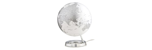 Atmosphere - Illuminated Globe - Chrome
