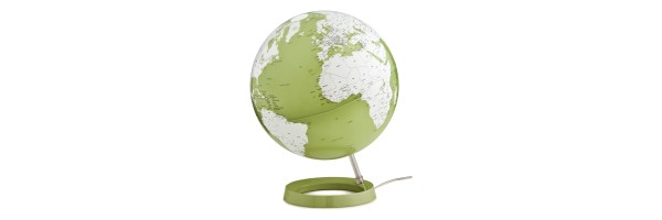 Atmosphere - Illuminated Globe - Pistachio