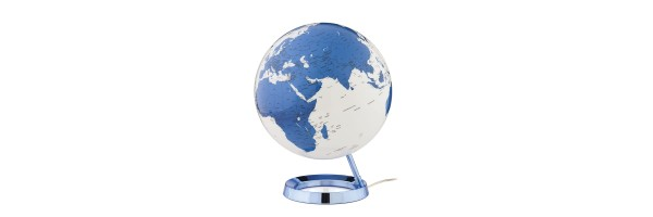 Atmosphere - Illuminated Globe - Blue
