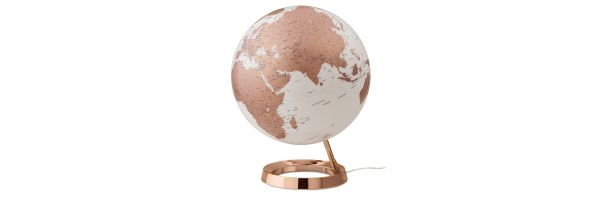 Atmosphere - Illuminated Globe - Copper