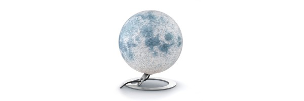 Atmosphere - Illuminated Globe - Moon