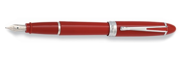 Aurora - Ipsilon Deluxe Red Chrome - Fountain Pen