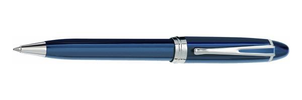 Aurora - Ipsilon Deluxe Blu Cromo - Penna a sfera