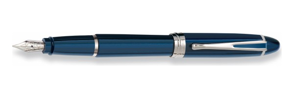 Aurora - Ipsilon Deluxe Blue Chrome - Fountain Pen