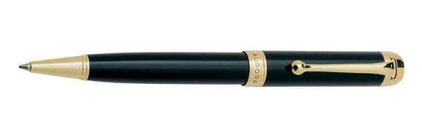 Aurora - Talentum - Glossy Black and Gold - Ballpoint Pen