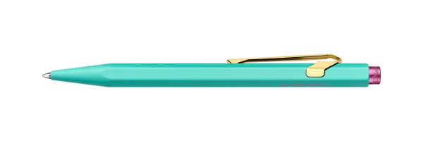 Caran d'Ache - 849 - Claim your Style - Penna a sfera - Turchese