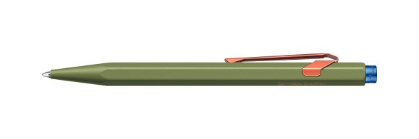 Caran d'Ache - 849 - Claim your Style - Penna a sfera - Green
