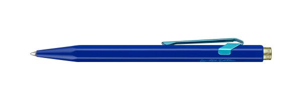Caran d'Ache - 849 - Claim your Style - Penna a sfera - Blu