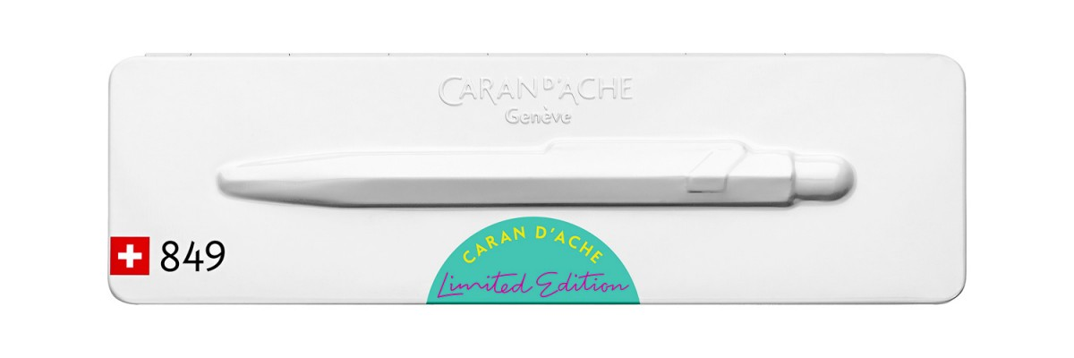 Caran d'Ache - 849 - Claim your Style - Ballpoint - Turquoise