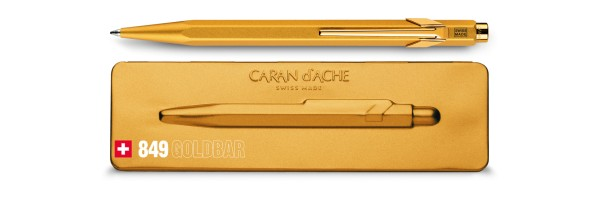 Caran d'Ache - 849 Gift Collection - GoldBar - Penna a sfera