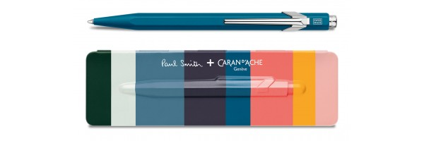 Caran d'Ache - 849 Paul Smith - Peacock Blue - Ballpoint