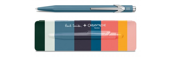 Caran d'Ache - 849 Paul Smith - Petrol Blue - Ballpoint
