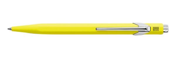 Caran d'Ache - 849 Pop Line Fluo - Gialla - Penna a sfera