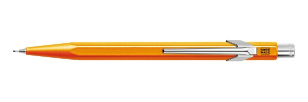 Caran d'Ache - 849 Pop Line Fluo - Orange - Pencil 0,7