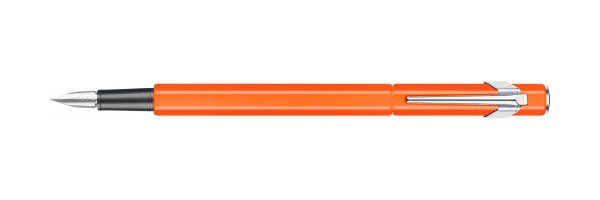 Caran d'Ache - 849 - Fountain Pen - Orange