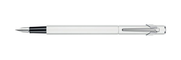 Caran d'Ache - 849 - Fountain Pen - White