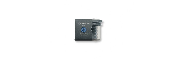 Caran d'Ache - Ink Cartridge - Idyllic Blue