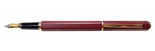 Caran d'Ache - Ecridor Lacca - Penna stilografica - Bordeaux Satinata