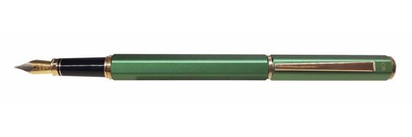 Caran d'Ache - Ecridor Lacca - Penna stilografica - Verde Satinata