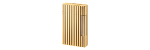 Dupont - 020801 - Accendino Initial - Golden bronze Linee