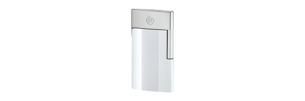 Dupont - E-Slim White - Chrome