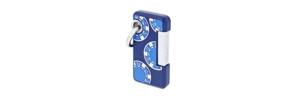 Dupont - Lighter Hooked - Matt blue Casinò
