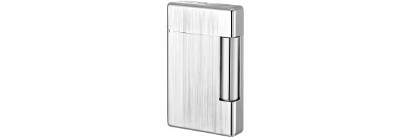 Dupont - 020804 - Accendino Initial - White bronze brushed