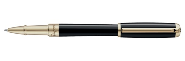 Dupont - LINE D - Natural Laquer Gold - Rollerball Pen Medium Size
