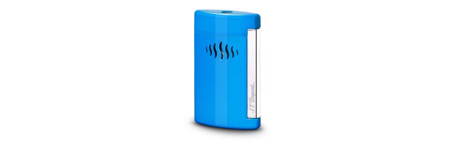 Dupont - Accendino Minijet - Blu Caraibi