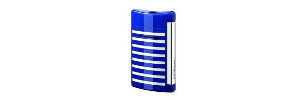 Dupont - Old Lighter Minijet - Blue white lines
